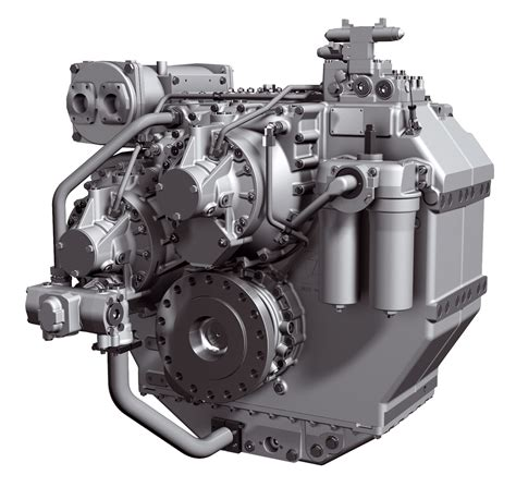 Ship Gearbox by Reverse Reduction And Clutchable Reduction Gearboxes Van