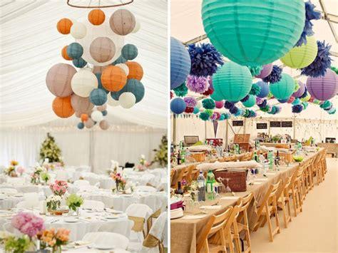 Paper Lanterns Wedding Decoration Ideas Elitflat