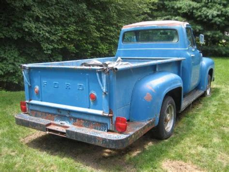 1955 ford ford f250 bed ford trucks for sale trucks antique trucks vintage