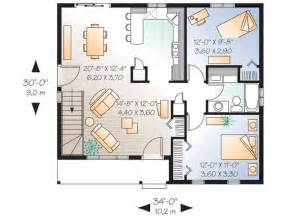 small 2 bedroom floor plans 1000 ideas about two bedroom house on small home plans small cottage plans and