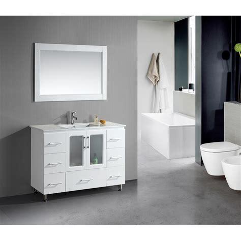 design element stanton  single sink vanity set
