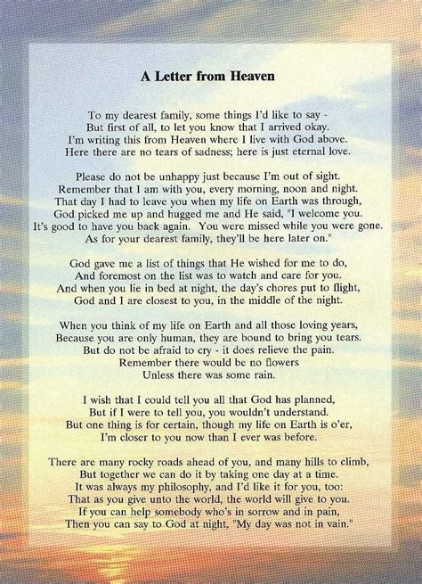 letter  heaven words    heave