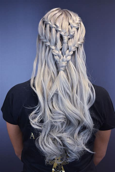 game  thrones inspired braids  great lengths hji