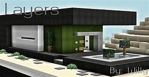 Layers Modern House – Minecraft Building Inc