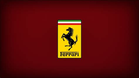 The logo of this company has always been decorated with a rampant horse that has stood on its hind legs. ferrari, Logo, Cars Wallpapers HD / Desktop and Mobile Backgrounds