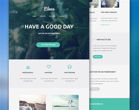 email newsletter psd templates web graphic