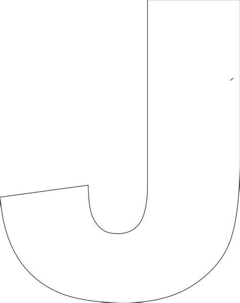 printable upper case alphabet template handmade