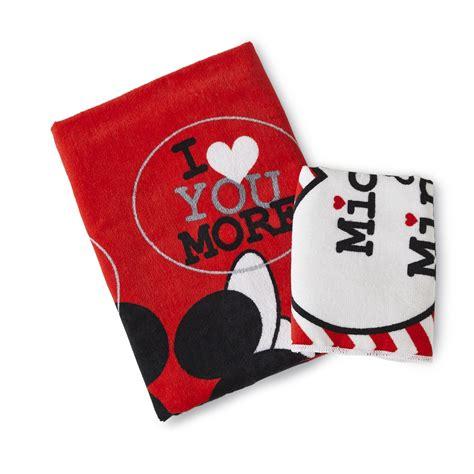 disney mickey minnie mouse bath towel washcloth shop    shopping earn