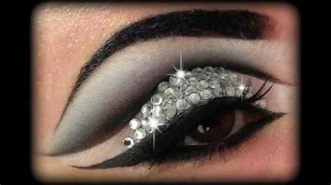 rihanna diamonds glitter rhinestones   tutorial youtube