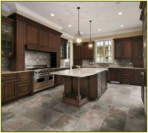 Glazed Porcelain Tile For Kitchen Floor  Kitchen #55439