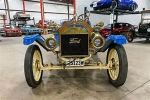 1914 Ford Model T Speedster 1 Blue Roadster 177ci 4