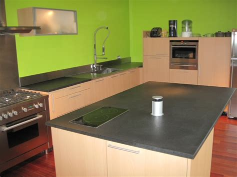 plan de travail central cuisine plan de travail de cuisine