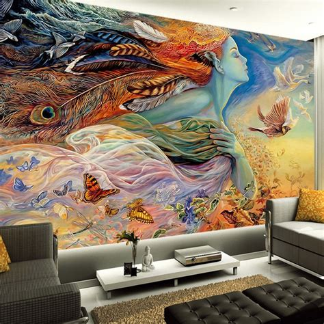 Fantasy Art Paintings Wall Mural Custom 3d Wallpaper. Build In Murals. Hall Murals. R2d2 Stickers. Philosophy Logo. Small Banners And Signs. Galaxy Lettering. Gangster Stickers. Ptsd Symptoms Signs