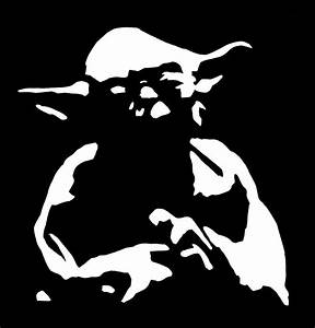 Yoda stencil by teplovd on DeviantArt