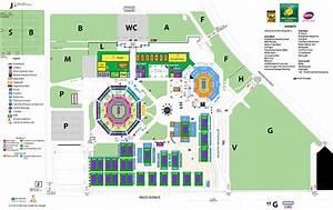 Indian Wells Tennis Garden Map