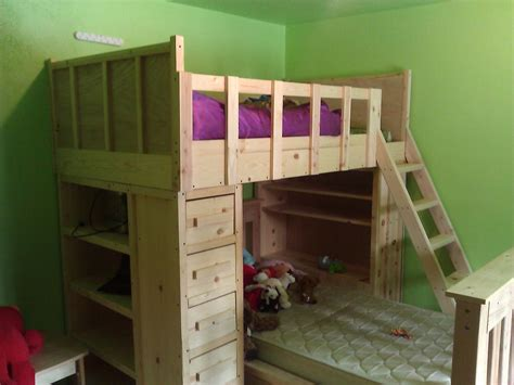 cabin bunk beds    home projects  ana