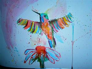Colorful Abstract Bird Paintings | www.imgkid.com - The ...