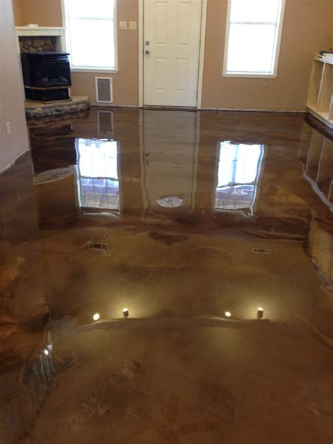 Reflection Enhanced Epoxy Concrete System   Glossy Floors