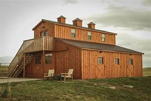 Modular Horse Barns from Teton Structures in Cheyenne, WY