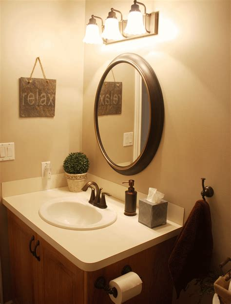 Bronze Bathroom Mirror by Oval Bathroom Mirrors Rubbed Bronze Bathroom Redo