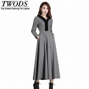 robe a la mode les robes longue d39hiver With robe d hiver en laine