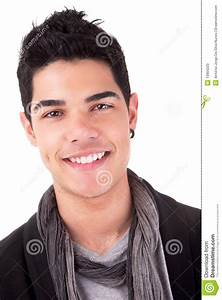 Handsome Young Man Smiling Stock Photo - Image: 13904220
