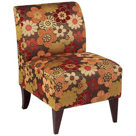 armless accent chair scarlet spice at big lots for the