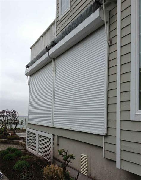 outdoor storm shutters window works