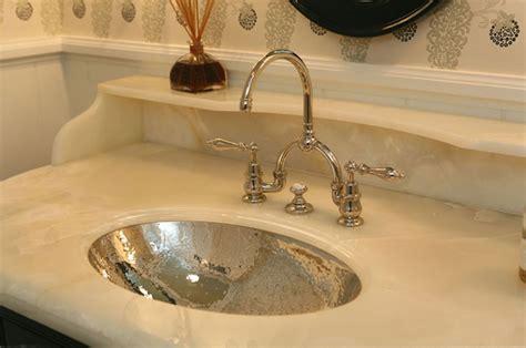 hammered sink design ideas