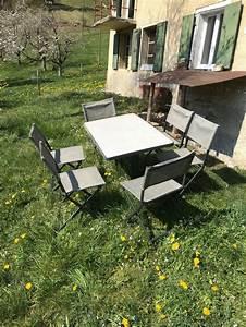 Gartentisch Mit Stühlen : gartentisch mit st hlen kaufen auf ricardo ~ A.2002-acura-tl-radio.info Haus und Dekorationen