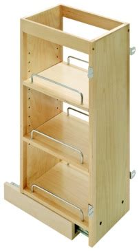 pull  spice rack  upper cabinets