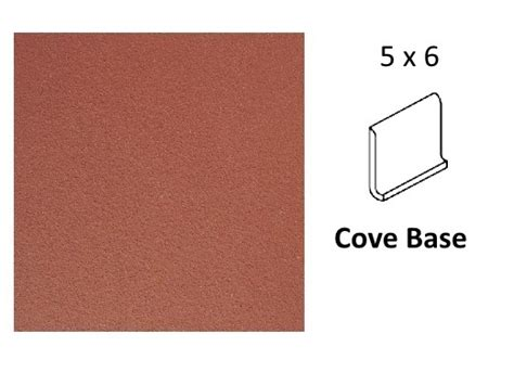 daltile q40 blaze 5 quot x 6 quot cove base quarry tile
