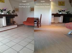 carrelage sol salle de bain gris clair With recouvrir un carrelage de cuisine