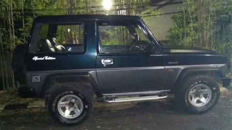dijual mobil daihatsu feroza tahun 1994