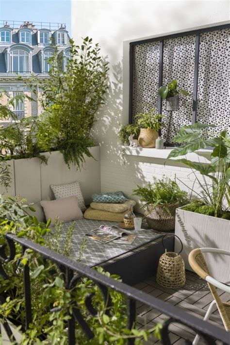 idees deco amenagement pour  petit balcon porch