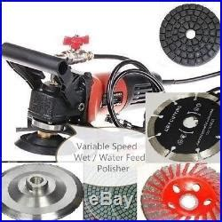 wet polisher grinder stone cutter lapidary   pad