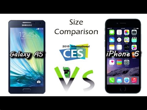 samsung galaxy   iphone  size comparison youtube