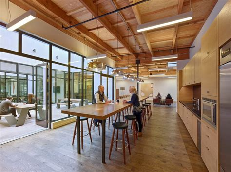 bureau en open space open office space in mill valley e architect
