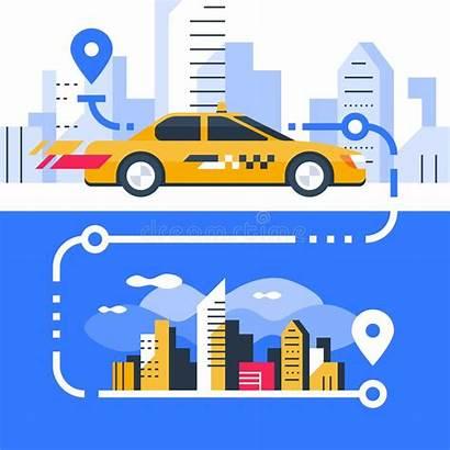Taxi Order Cab Transportation Rental Fast Transfer