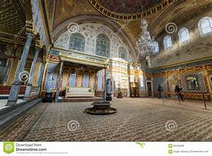Throne Room At Harem Section Of Topkapi Palace, Istanbul ...