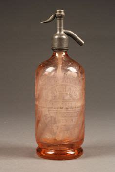 syphon cuisine ancien siphon syphon bouteille à eau de seltz fuschia