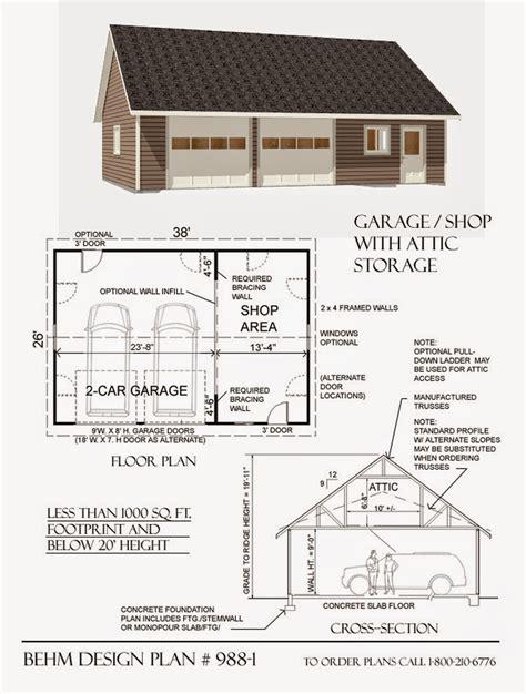 Blogs Exles Large Garage Plans Garage Plans Behm Design Garage