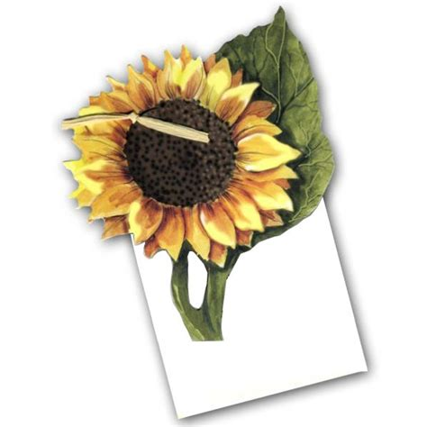 blank sunflower party invitations paperstyle