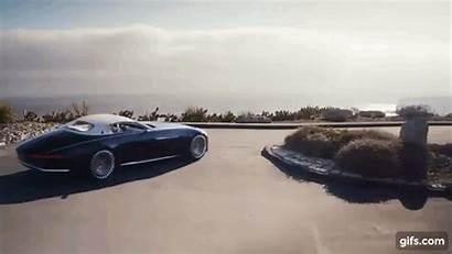 Maybach Mercedes Gifs Cabriolet Revelation Vision Trailer