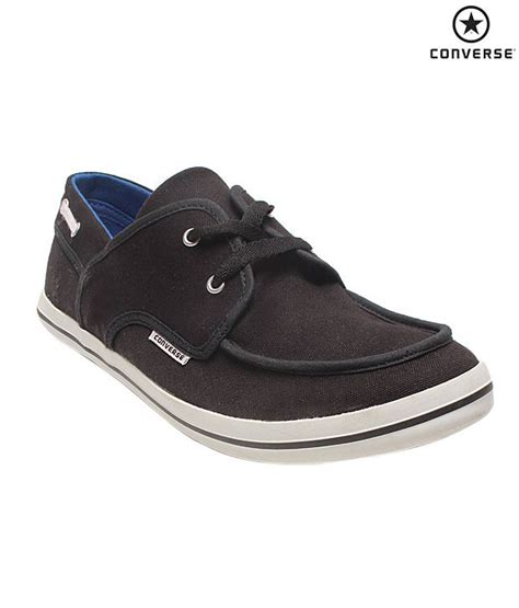 Converse Boat Shoes buy converse black canvas shoes for snapdeal