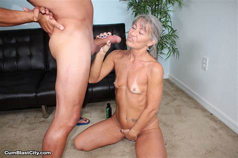 Dirty Grandma Craving For Muscle Dick