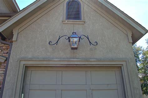 Garage Door Lights by Quarter Style Lantern With Mustache Bracket