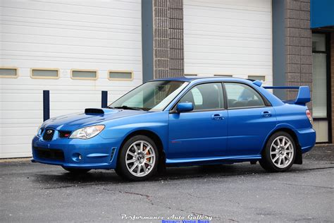 Rally Blue Wrx by New Arrival 2006 Sti In World Rally Blue For Sale With