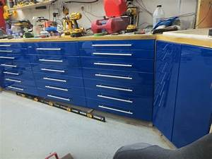 DIY garage cabinets - YouTube