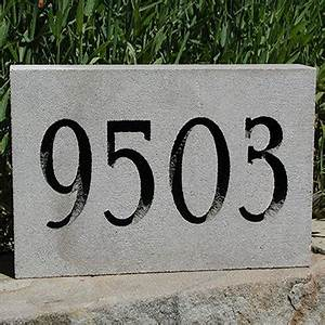 exterior house numbers and letters modern house With exterior address numbers and letters
